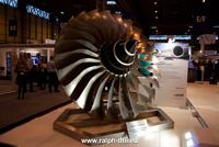 Girante turbina aereo
