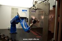 Robot posa schiuma poliuretano