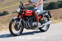 Honda CB 350 Four - Leggera, agile, elegante