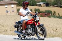 Honda CB 350 Four - Piacere di guida su due ruote