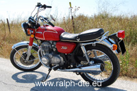 Honda CB 350 Four - Vista laterale sx