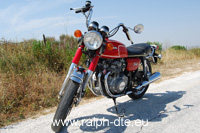 Honda CB 350 Four - Vista 3/4 laterale