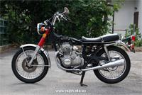 Honda CB350 Four nuda