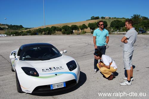 Prova Tesla Roadster