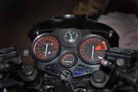 Strumentazione moto turbo artigianale