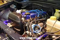 Motore installato nel suo vano