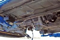 Gruppo motore, cambio e differenziale centrale Ford Escort RS Cosworth
