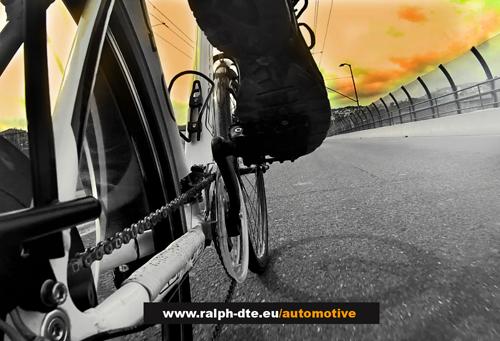 Powertrain Ralph DTE EBK Endurance montato su un normale telaio stradale