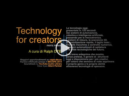 Technology for Creators - Parte prima