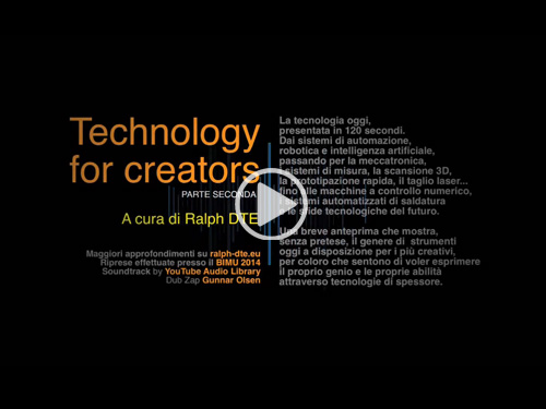 Technology for Creators - Parte seconda