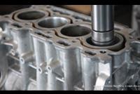 Alesatura cilindri motore a combustione interna
