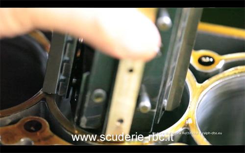 levigatura dei cilindri di un motore a combustione interna