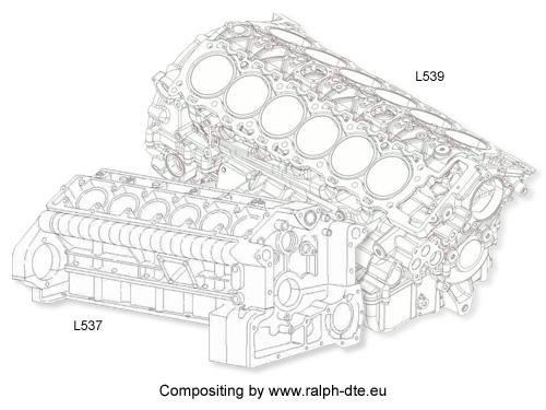 Monoblocco Lamborghini Murcielago LP640 e Aventador LP 700-4