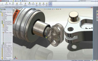CAD 3d Assembly - Example
